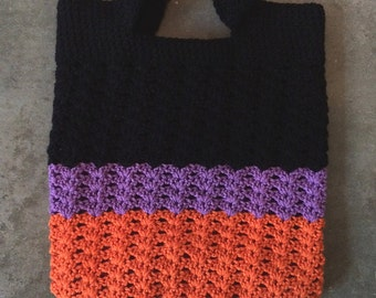 Hand Crocheted Market Bag / Miscellaneous Tote