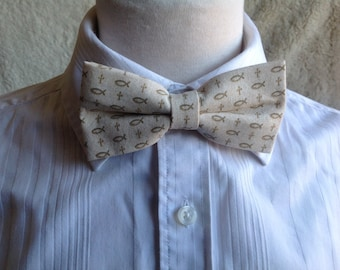 off white bow tie