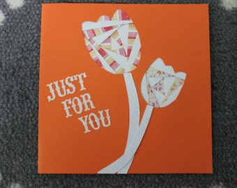Just For You Iris Folding Card