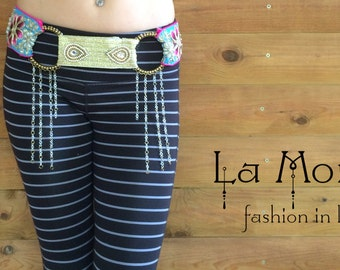 tribal fusion belt indian fusion belt art nouveau belt romantic indian belt festival belt