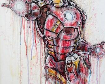 Iron Man Artwork Print