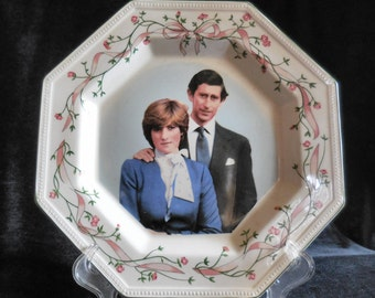 Prince Charles and Lady Diana Royal Wedding Commemorative Plate by Johnson Brothers