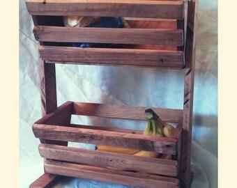 Counter/Table-Top Fruit & Veggie Basket