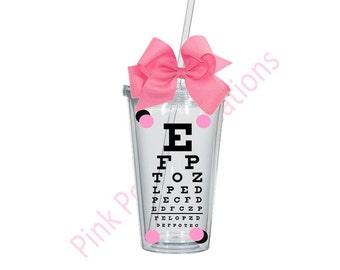 Optometrist Tumbler, Optometry, Optometrist Gift