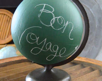 Vintage Chalkboard Globe