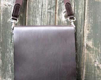 Beautiful Hand Made Leather Cross Body Messenger Bag/Satchel