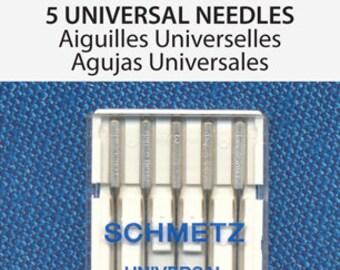 Schmetz Universal Sewing Machine Needles