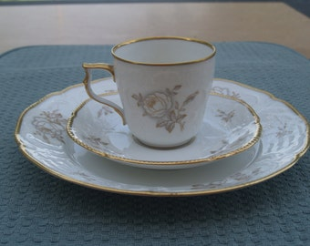 Rosenthal Germany 3-Piece set Cup Saucer Plate