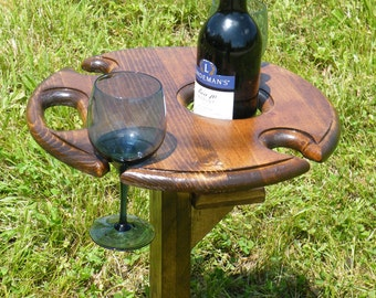 Outdoor Wine Table
