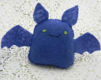 Blue Bat: Felt Mini Plush