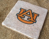 Stone Coaster Set Of 4, Auburn