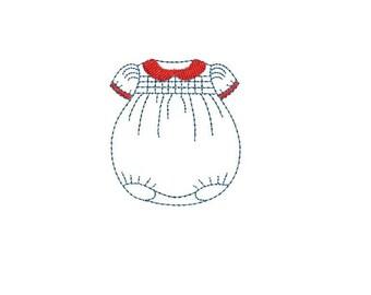 Motif broderie machine vêtement bébé