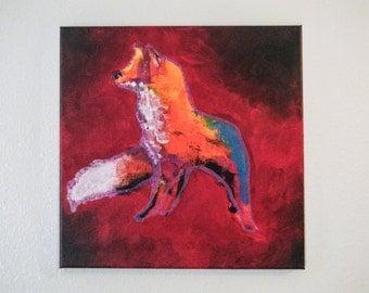Original painting - Fox
