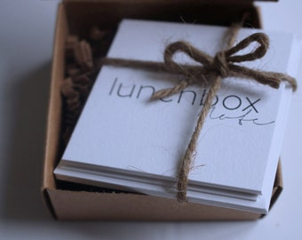 Lunchbox Note Box