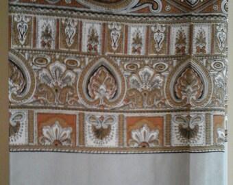 Man scarf 100% silk Vintage