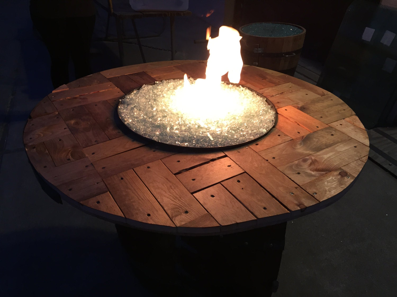 Wine Barrel Fire Pit Whiskey Barrel Fire Pit By
