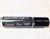 Glacier Bay Mint Perfume Oil, Mint Perfume, Roll On Perfume, Saltwater Perfume Oil, Women's Perfume, Vegan Perfume, Summer Perfume Wedding