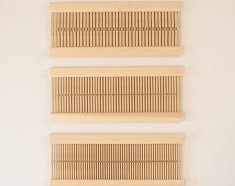 10 inch Heddle in 8, 10, and 12 Dent / For 10 inc Rigid Heddle Weaving Loom