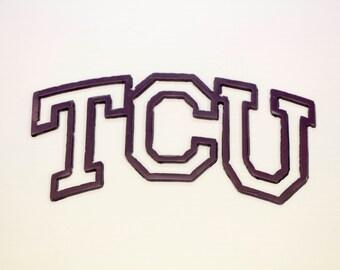 TCU metal cut out