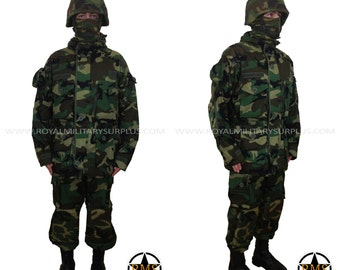 Military Costume / Army Style Clothing - Paratrooper/Airborne Camouflage Military Kit - Airsoft & Paintball - US WOODLAND (M81 Pattern)
