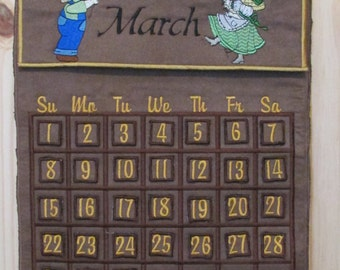 PERPETUAL CALENDAR - never out of date!!
