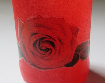 Red Rose Glass (single)