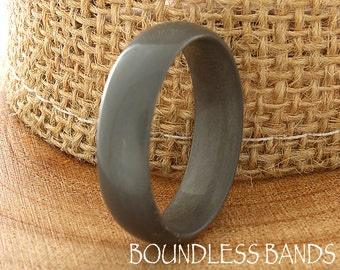 Tungsten Ring Tungsten Wedding Band Mens Women's Tungsten Ring Promise Anniversary Engagement Gun Metal Color Matching Ring Set 6mm Dome New