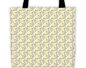 Yellow Flowers Tote