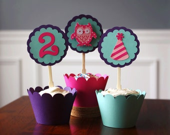 Scalloped Cupcake Wrappers