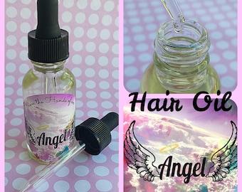 Organic Hair Oil Serum (1 oz dropper bottle)