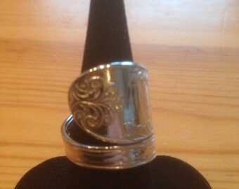 Spoon Ring Silver 1841