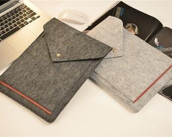 Felt 11 Laptop Case , 11 Laptop Bag , Felt 11 Laptop Sleeve , Macbook Air 11 , Laptop Sleeve 11 , Mac Book Air 11 Case #206