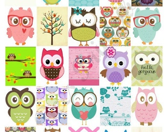 Printable Owl Boxes for Life Planner