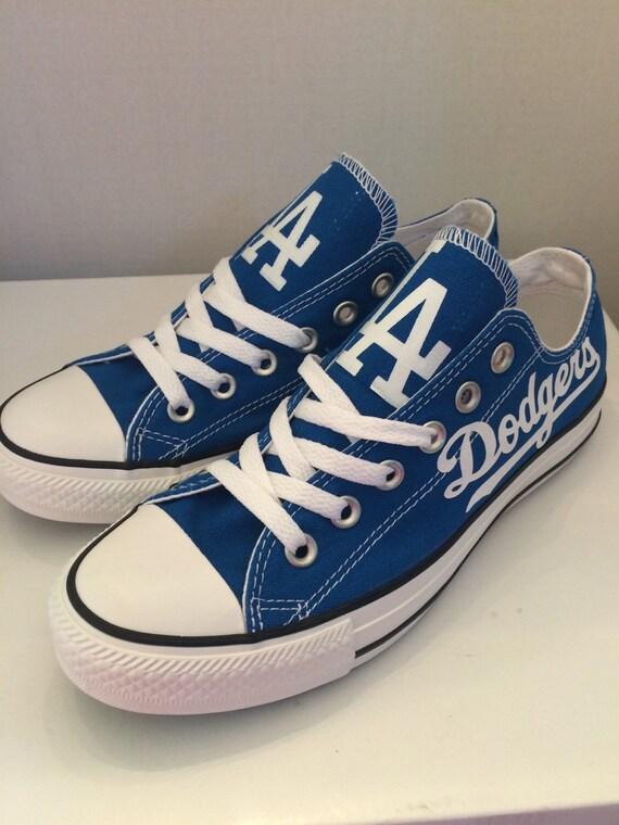 La Dodgers Converse Shoes