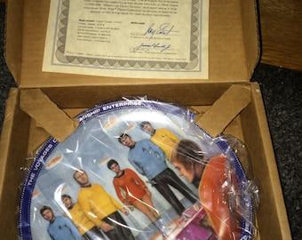 Star Trek Beam Us Down Scotty Plate Hamilton  New Plate # 2967K