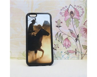 Cowboy - Rubber iPhone Case