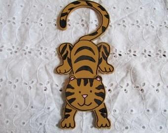 Tiger Door Hanger-Kids Room Decor- Gifts for her-Gifts for him-Birthday Gifts-Door Hanger-Boys Room Decor-Gifts for Boys