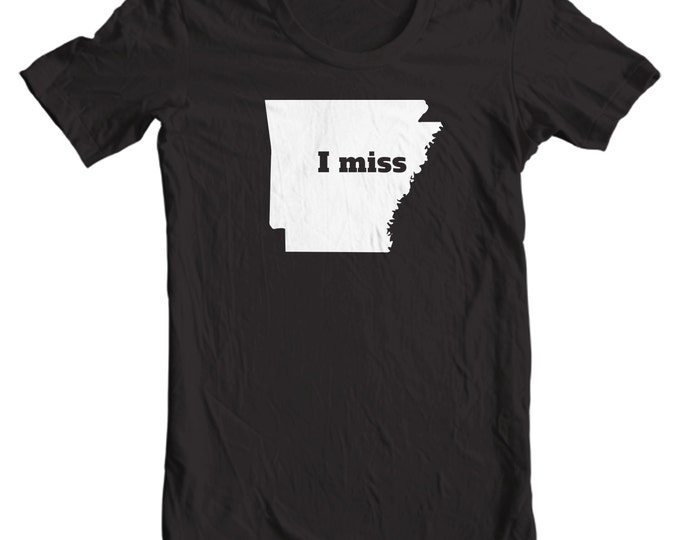 Arkansas T-shirt - I Miss Arkansas - My State Arkansas T-shirt