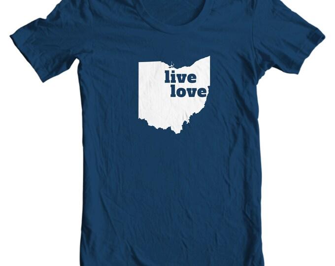 Ohio T-shirt - Live Love Ohio - My State Ohio T-shirt