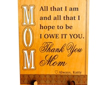 Gift to my Sweet Mama,Thank You Mom Gift ,Mom Appreciation Keepsake Gift, Son to Mom Gift, Daughter to Mom Gift, Gift to my Mother,,Parents.