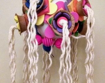 Dolly Ball, Bird Toy, Shredable, Preening