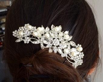 bridal hair comb,wedding comb, hair accessories,wedding hair comb,pearl bridal comb,wedding accessory,bridal hair piece,wedding headpiece