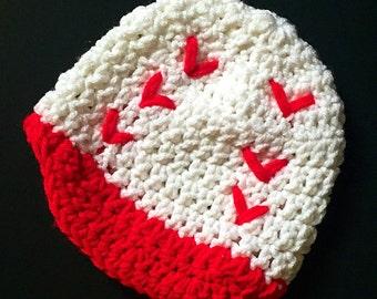 Crochet Baby Baseball Beanie