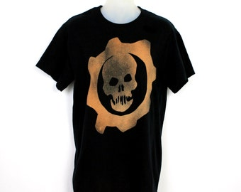 Gears of War Crimson Omen Bleached Shirt