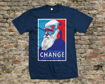Darwin Change T Shirt 100% cotton - 2128