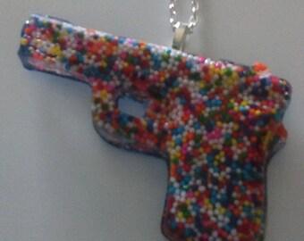 Sprink Gun Necklace
