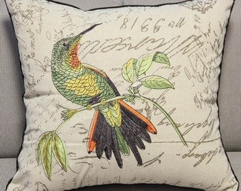 Animal Bird Tree Pillow Case Cushion Cover, 8 Patterns