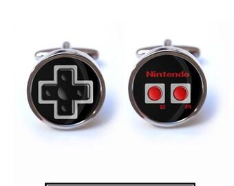 Nintendo Cufflinks - Nintendo Game Controller Cufflinks
