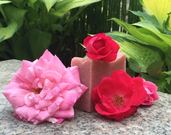 All Natural: Rose Soap