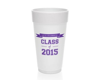 Perfect Graduation Party Cups